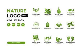 Leaf Logo Collection Graphic Logos By Role Graphic