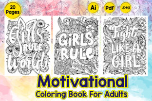 Motivational Coloring Pages Graphic Coloring Pages & Books By Creative Artist