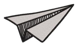 Paper Airplane Toys & Games Embroidery Design By Embroidery Designs