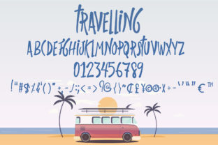 Print on Demand: Travelling Script & Handwritten Font By Nobu Collections 9