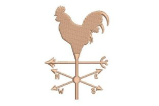 Weather Vane Farm & Country Embroidery Design By Embroidery Designs