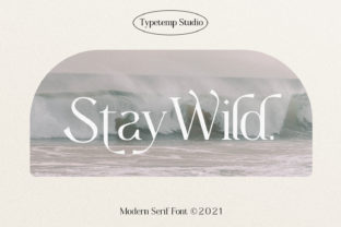 Print on Demand: Woodie Serif Font By TempCraft
