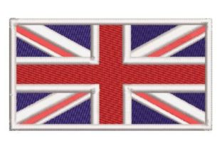 British Flag Europe Embroidery Design By Embroidery Designs