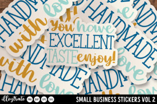 Print on Demand: Business Packaging Stickers SVG Graphic Crafts By illuztrate 2