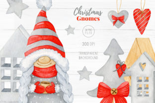 Christmas Hygge Gnome Clipart - 3