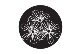 Flowers Beauty Icon White Line Style Graphic Icons By samagata