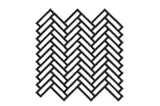 Herringbone Pattern Intricate Cuts Embroidery Design By Embroidery Designs