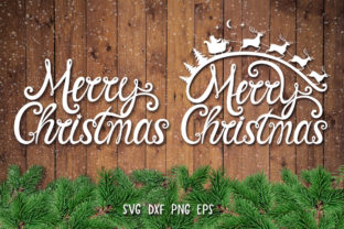 Merry Christmas SVG,Christmas Quote SVG Graphic Crafts By goodfox86