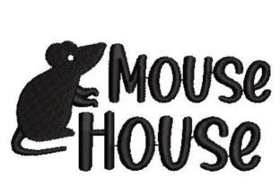 Mouse House Farm & Country Embroidery Design By Embroidery Designs