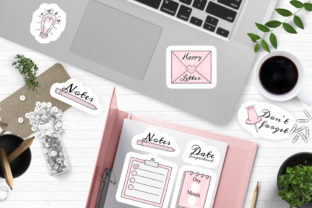 Print on Demand: Planner Printable Stickers Design Png Graphic Crafts By LerVik 2