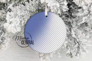 Christmas Tree Ornament PSD Mockup Graphic Product Mockups By Mockup Central