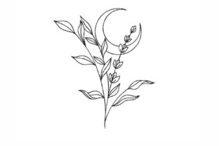 Flowers Outline Flowers Embroidery Design By NinoEmbroidery