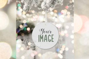 Hanging Christmas Tree Ornament Mockup Graphic Product Mockups By Mockup Central