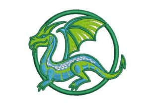 3D Layered Dragon Fairy Tales Embroidery Design By Embroidery Designs