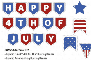 3D 4th of July Paper Flowers 3D SVG Craft Cut File By Creative Fabrica Crafts 3