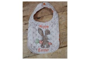 Bunny Carrot Easter Embroidery Design By Bella Bleu Embroidery