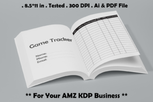 Game Tracker - Kdp Interiors Graphic KDP Interiors By Kdp Speed 1