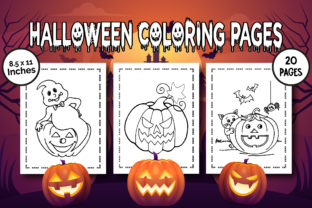 Halloween Coloring Pages - Vol 2 Graphic Coloring Pages & Books Kids By Kids_Zone