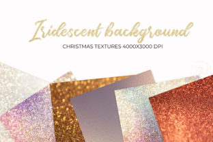 Print on Demand: Iridescent Background, Iridescent Graphic Backgrounds By The Rose Mind 3