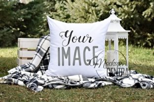 Outdoor Nature Mockup Square Pillow Graphic Product Mockups By Mockup Central