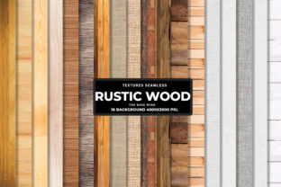 Print on Demand: Rustic Wood Background Graphic Backgrounds By The Rose Mind