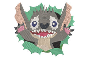 Print on Demand: Surprise Monster Animals Embroidery Design By Dizzy Embroidery Designs