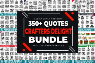 Print on Demand: The Crafters Delight Bundle Graphic Crafts By Designdealy