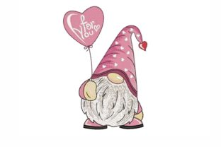 Valentine's Day Gnome Valentine's Day Embroidery Design By NinoEmbroidery