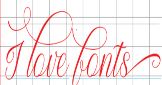 Fonts for Crafting: Adjusting Text – Part 1