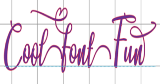 Fonts for Crafting: Adjusting Text – Part 2