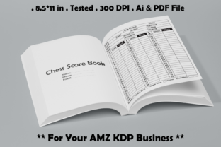 Chess Score Journal - Kdp Interiors Graphic KDP Interiors By Kdp Speed 1