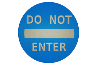 Print on Demand: Do Not Enter House & Home Embroidery Design By embroidery dp
