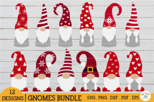 HUGE Christmas and Autumn Bundle SVG Graphic Crafts By redearth and gumtrees 6