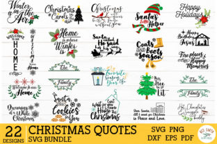 HUGE Christmas and Autumn Bundle SVG Graphic Crafts By redearth and gumtrees 8