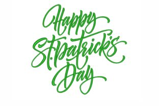 Happy St. Patricks Day St Patrick's Day Embroidery Design By NinoEmbroidery