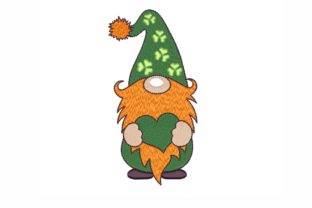 St. Patrick`s Day Gnome St Patrick's Day Embroidery Design By NinoEmbroidery