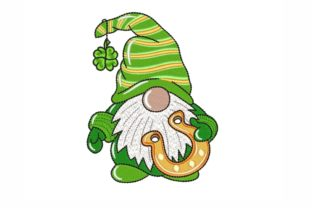 St. Patrick's Day Gnome St Patrick's Day Embroidery Design By NinoEmbroidery
