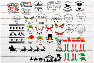The Huge Christmas and Winter Bundle Graphic Crafts By redearth and gumtrees 2