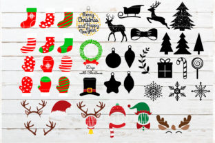 The Huge Christmas and Winter Bundle Graphic Crafts By redearth and gumtrees 3
