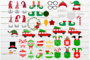 The Huge Christmas and Winter Bundle Graphic Crafts By redearth and gumtrees 4