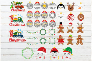 The Huge Christmas and Winter Bundle Graphic Crafts By redearth and gumtrees 5