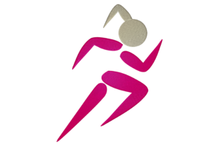 Print on Demand: Woman Running Hobbies & Sports Embroidery Design By embroidery dp