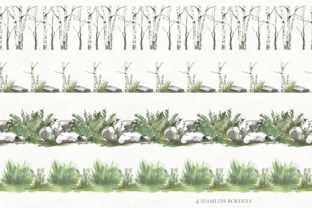 Print on Demand: Woodland Animal Watercolor Graphic Illustrations By laffresco04 11