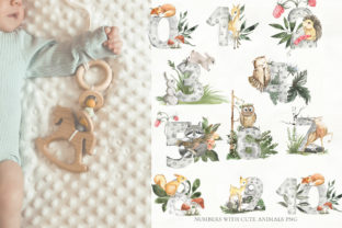 Print on Demand: Woodland Animal Watercolor Graphic Illustrations By laffresco04 7