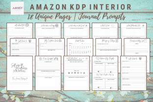 Print on Demand: Self-Care Mindfulness Positivity Journal Graphic KDP Interiors By allaboutkdp 2