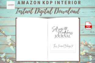 Print on Demand: Self-Care Mindfulness Positivity Journal Graphic KDP Interiors By allaboutkdp 3