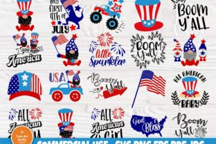 Print on Demand: 4th of July SVG, Patriotic Svg, American Graphic Crafts By TonisArtStudio