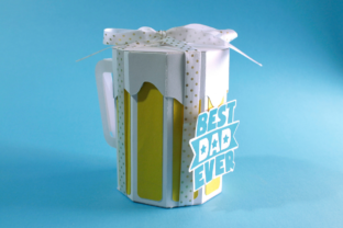 3D Father's Day Beer Gift Box 3D SVG Craft Cut File By Creative Fabrica Crafts 5