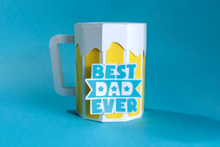 3D Father's Day Beer Gift Box 3D SVG Craft Cut File By Creative Fabrica Crafts 6