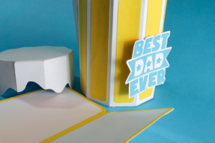 3D Father's Day Beer Gift Box 3D SVG Craft Cut File By Creative Fabrica Crafts 9